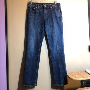 vintage dark wash ralph lauren straight jeans